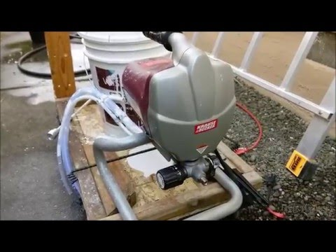 Harbor Freight Krause & Becker Paint Sprayer System review Spray Gun disassemble and how to, tips.