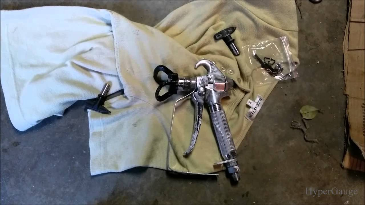 Harbor Freight Krause & Becker Paint Sprayer System review Spray Gun  disassemble and how to, tips