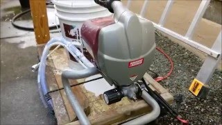 harbor freight krause becker paint sprayer system review spray gun. Black Bedroom Furniture Sets. Home Design Ideas