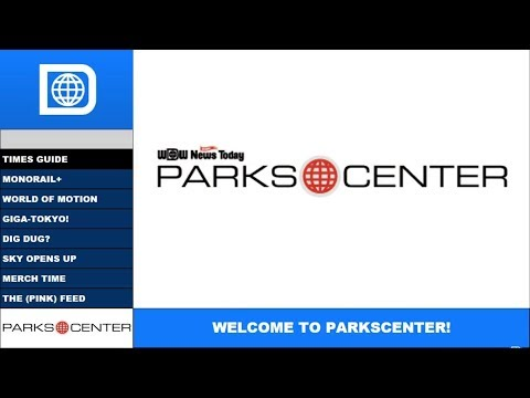 ParksCenter S1E3 - 4/18/2018 - Monorails, Tokyo, Up, and Millennial Pink