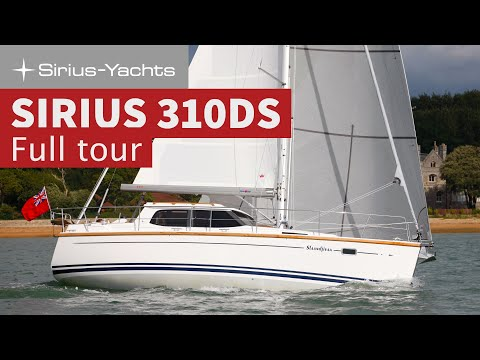 Sirius 310DS Full Video - See her at the Southampton Boat Show 2017