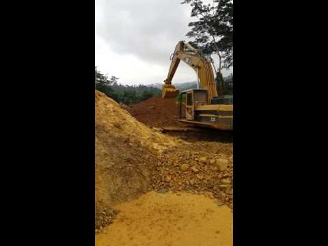 HoneyComb Gold Mining in Ghana West Africa