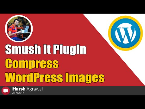 How to Use Smush it Plugin to Compress WordPress Images - 동영상