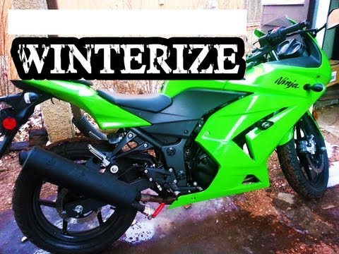 How to Winterize Motorcycle Ninja 250