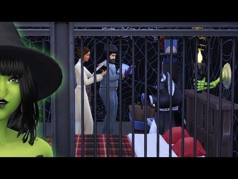 LA PRISON DE LA MÉCHANTE SORCIÈRE - SIMS 4