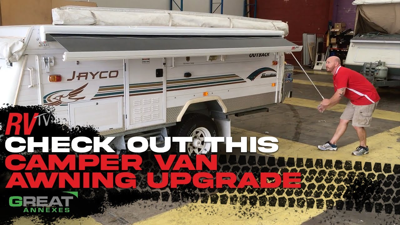 Info Camper Awning Upgrade Youtube