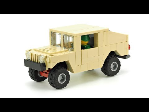 Lego Wwii Willys Mb Jeep Instructions