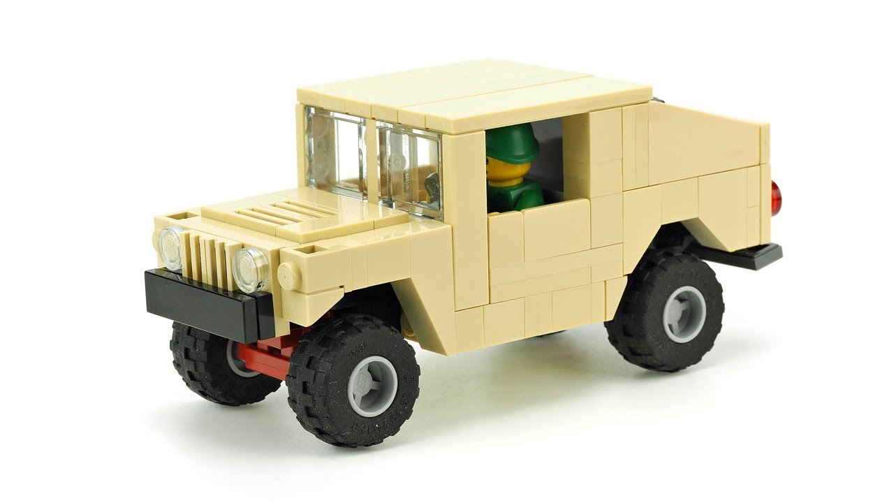 LEGO Army Off-Road Vehicle. MOC Building Instructions