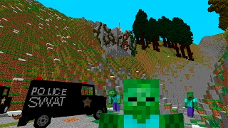 Вышка связи! День 5. Зомби Апокалипсис в Майнкрафт