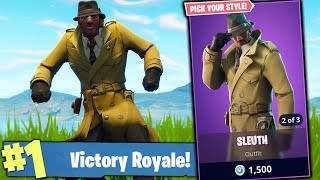 LIVESTREAM #636 FORTNITE! NEW SKINS DETECTIVES:D WHICH ONE DO I BUY? WINS 🏆 397