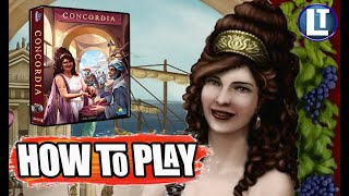 CONCORDIA / DIGITAL Ediтion / HOW To PLAY Rules Overview / Tutorial