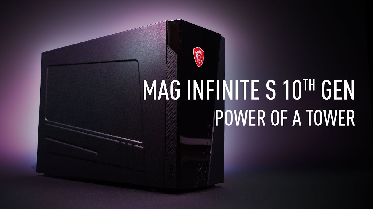 MAG Infinite S 10th - Small But Powerful | Gaming Desktop | MSI