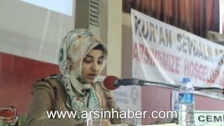 Arsin'de Kur'an okuma Finali yapıldı.