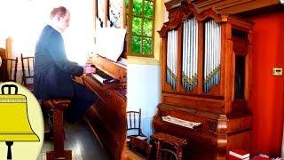 Gezang 161, Uit uw hemel zonder grenzen: Samenzang Lutherse kerk Winschoten