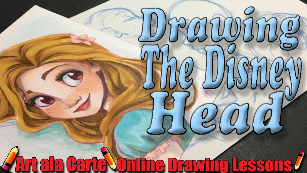 Drawing That Disney Head Youtube