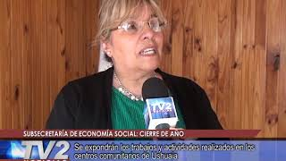 Subsecretaría de economía social | Interés General | 21/11/2019 - TV2 Noticias