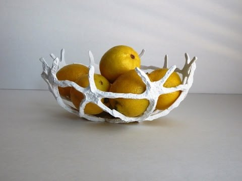 DIY Polymer Clay Star Fish Decorative Bowl - Kitchen Decor