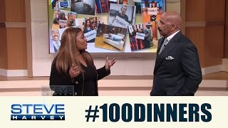 Nominate a worthy single mom for #100Dinners! || STEVE HARVEY