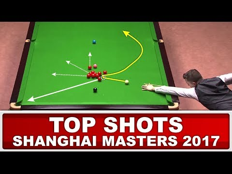 TOP 12 GREATEST SHOTS! Shanghai Masters 2017 (Or Ronnie O'Sullivan Top Shots?)