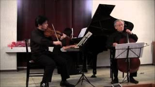 Mozart: Piano Trio in G major K.496 2of 3