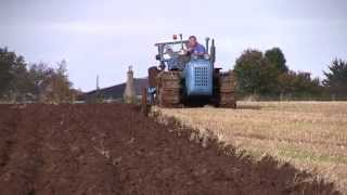 Scottish County Tractor Club, conventional ploughs, Oct 2014