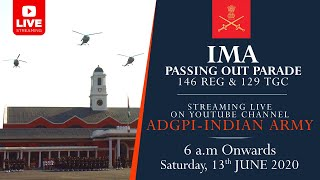 Passing Out Parade (POP) | Indian Military Academy (IMA) | 13 June 2020 |