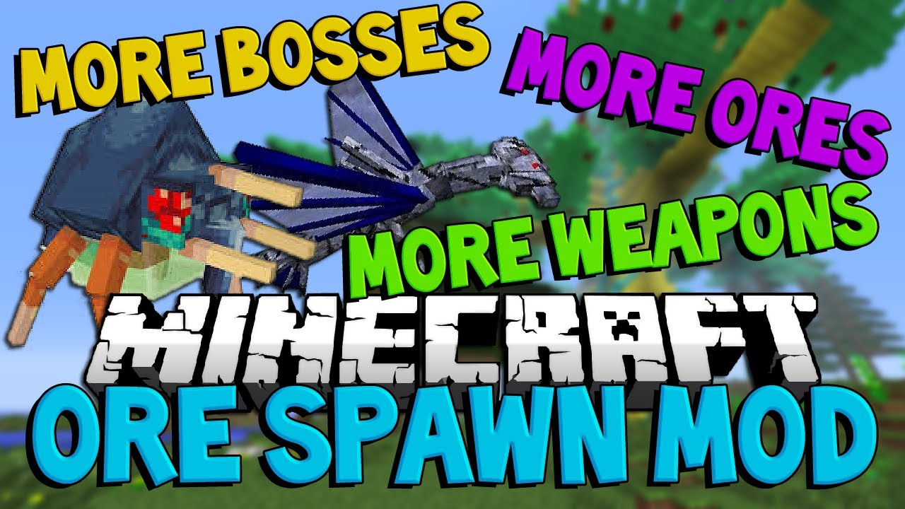 Minecraft: OreSpawn (More Mobs and Dimensions) Modded Lets Play #1 MANTIS  RAID | JeromeASF