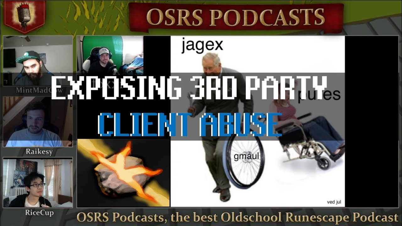 What Happened to Konduit? Ft  Client Founder Foxxi - OSRS Podcast #29