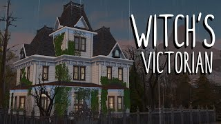 Witch's Victorian 🧹🦇 // Sims 4 Speed Build