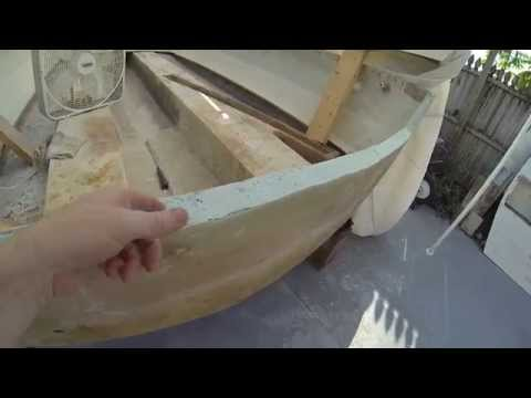 How to: Pouring & Installing a SeaCast Transom