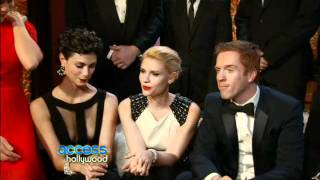 Video The Cast of Homeland Backstage at the Golden Globes (15 January 2012) download MP3, 3GP, MP4, WEBM, AVI, FLV November 2017