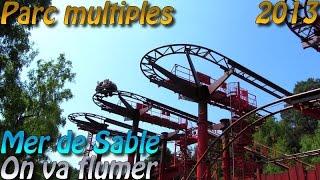 Deanrell à la Mer De Sable et au Parc Astérix : On va flumer !