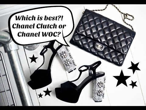 9b958b450041 Chanel Clutch v s WOC! Which handbag is best ! Here s my review of these  Chanel Handbags!