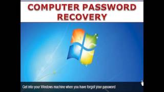 Recovery solutions if you forgot windows password