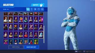 All my skins in fortnite