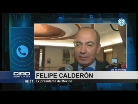 Ridículo y decepcionante; nunca presioné a Arturo Zaldívar, responde Calderón