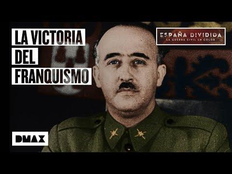 Así fue la entrada de Franco en Madrid, vista en color.