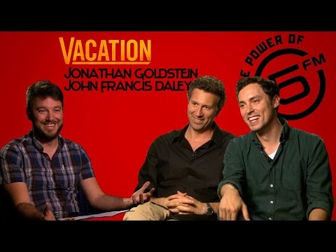 Vacation The Movie - Rob Forbes Interviews John Daley & Jonathan Goldstein