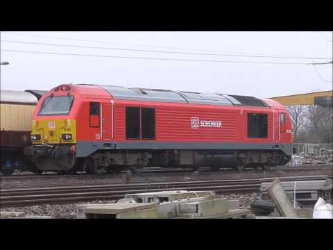 Light engine moves & Rail tours & Charter around Bristol 18/3/2017