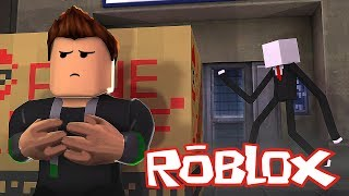 FUJA DO SLENDER NO ROBLOX!