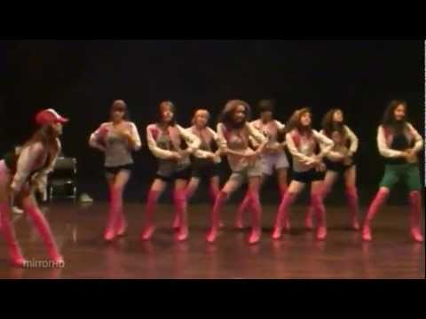 SNSD - Oh mirrored dance practice fix