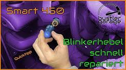 Smart 450 | Lichtschalter Blinkerhebel Abblendlicht super einfach repariert | DIY | Quicktipp