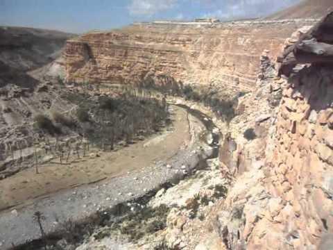 Algérie, Batna, Les balcons du Rhoufi