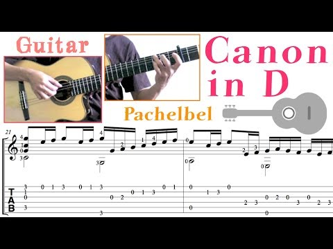 Canon in D (Guitar) D大調卡農 (吉他)
