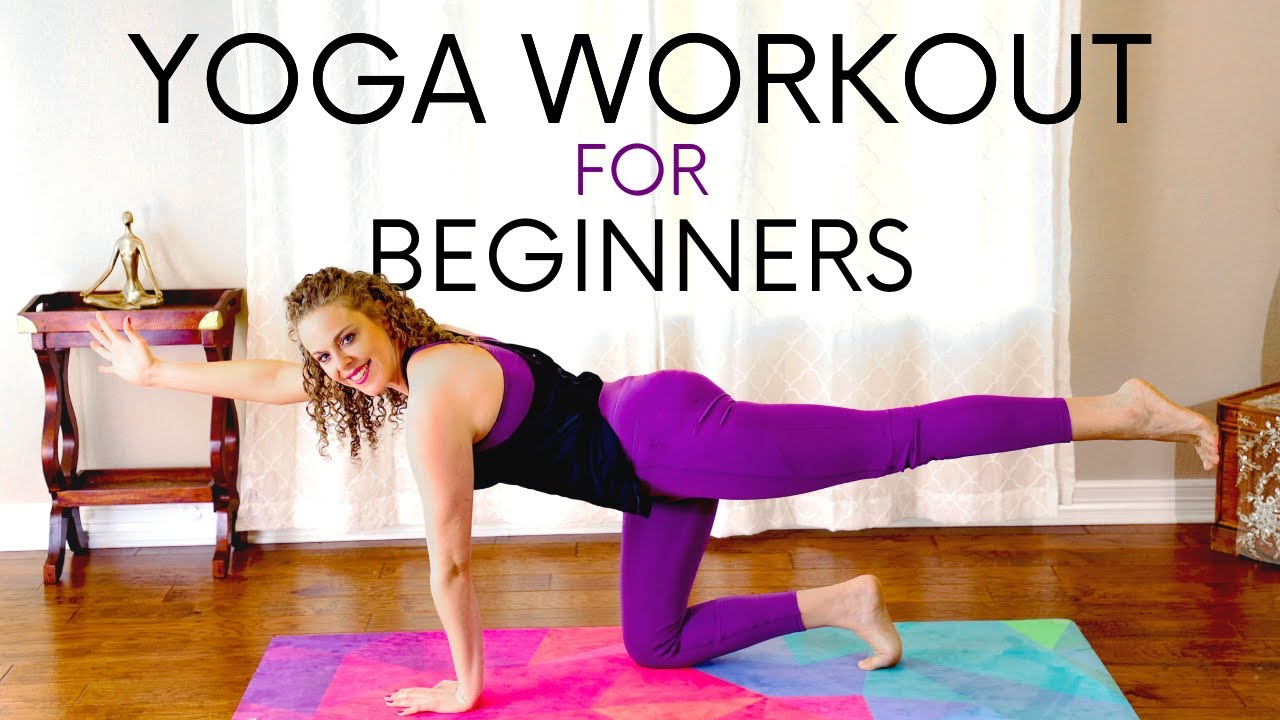 Beginners Yoga Workout with Corrina | New to Yoga? Try this!