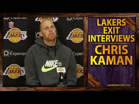 Lakers Exit Interview 2014: Chris Kaman, Like Kobe Wants To 'Flush' Season