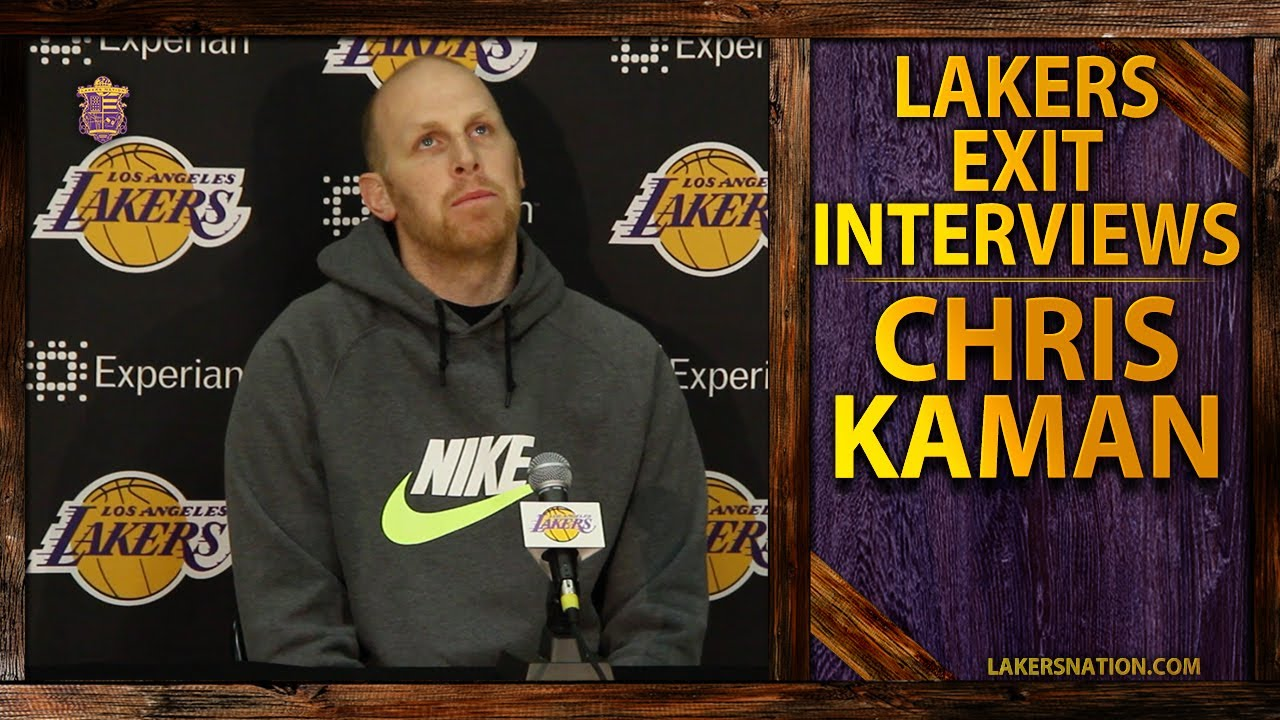 Lakers Exit Interview 2014 Chris Kaman Like Kobe Wants To Flush