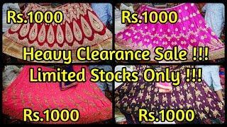 Diwali Clearance Sale | 5000 ரூபாய் மதிப்புள்ள Bridal Lehengas இப்போ 1000 மட்டுமே !