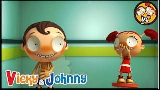 Vicky & Johnny | Episode 22 | FART | Full Episode for Kids | 2 MIN