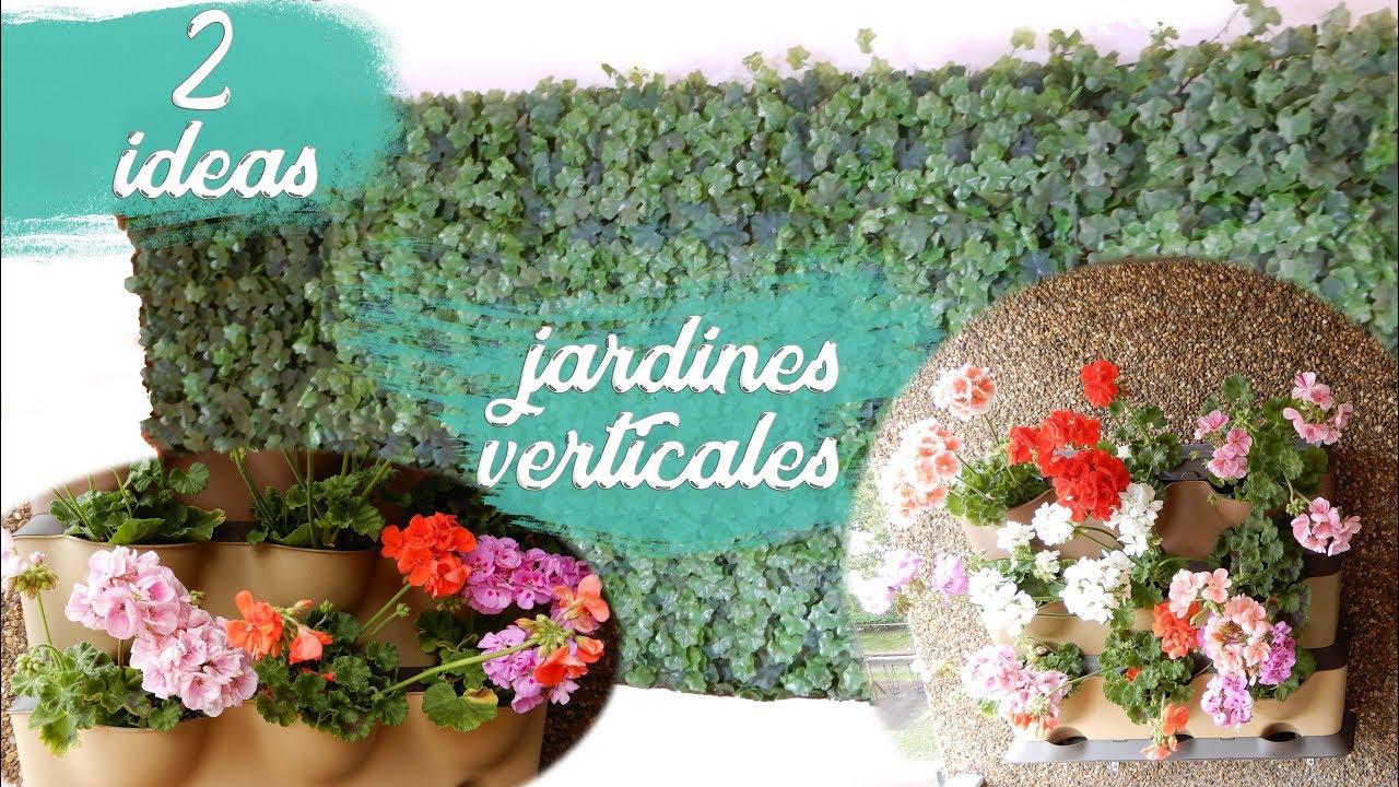 2 Ideas Para Crear Tu Propio Jardin Vertical Para Interior Y
